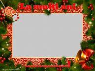Personalizare felicitari de Anul Nou | La multi ani ...! - Rama foto de Anul Nou