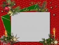 Personalizare felicitari de Anul Nou   2019 La multi ani! - Rama foto de Anul Nou