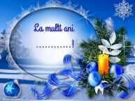 Personalizare felicitari de Anul Nou | La multi ani ...!