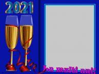 Personalizare felicitari de Anul Nou | La multi ani! - Rama foto de Anul Nou