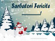 Personalizare felicitari de Anul Nou | Sarbatori fericite ...! ...