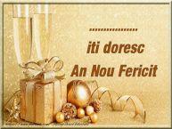 Personalizare felicitari de Anul Nou | ... iti urez un An Nou Fericit