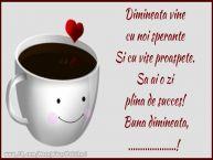 Personalizare felicitari de buna dimineata | Buna dimineata, ...!