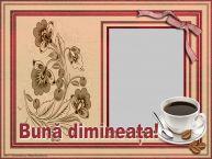 Personalizare felicitari de buna dimineata | Felicitare de dimineata cu poza de profile