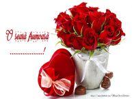 Personalizare felicitari de buna seara | Felicitare cu flori: O seară frumoasă ...!