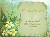 Personalizare felicitari de Sfintii Constantin si Elena | La multi ani ..., cu ocazia zilei de Sfintii Constantin  si Elena