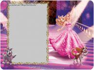 Personalizare felicitari pentru copii | Felicitare cu Barbie. La multi ani ...