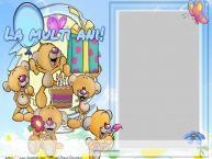 Personalizare felicitari pentru copii   La multi ani ...