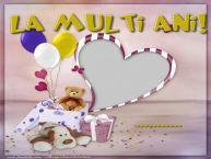 Personalizare felicitari pentru copii | La multi ani, ...