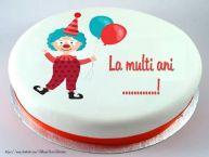 Personalizare felicitari pentru copii   Tort La multi ani ...!