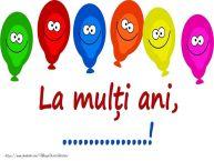 Personalizare felicitari pentru copii | La mulți ani, ...!
