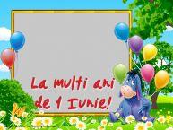 Personalizare felicitari pentru copii | La multi ani de 1 Iunie!