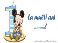 Personalizare felicitari pentru copii | La multi ani ...! 1 an