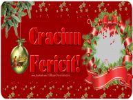 Personalizare felicitari de Craciun | Craciun Fericit!
