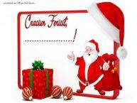 Personalizare felicitari de Craciun | Craciun Fericit, ...