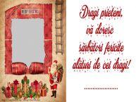 Personalizare felicitari de Craciun | Dragi prieteni, vă doresc  sărbători fericite alături de cei dragi! ...