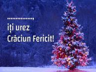 Personalizare felicitari de Craciun | ..., iți urez Crăciun Fericit!