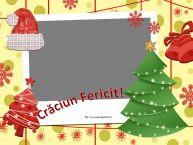 Personalizare felicitari de Craciun | Crăciun Fericit! - Rama foto de Craciun