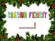 Personalizare felicitari de Craciun | Craciun Fericit ...!