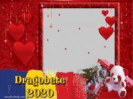 Personalizare felicitari de Dragobete | Rama foto