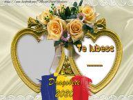 Personalizare felicitari de Dragobete | Te iubesc  ... !