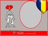 Personalizare felicitari de Dragobete | Te iubesc, ...!
