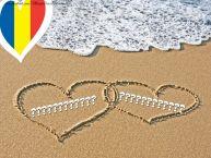 Personalizare felicitari de Dragobete   Nume pe nisip