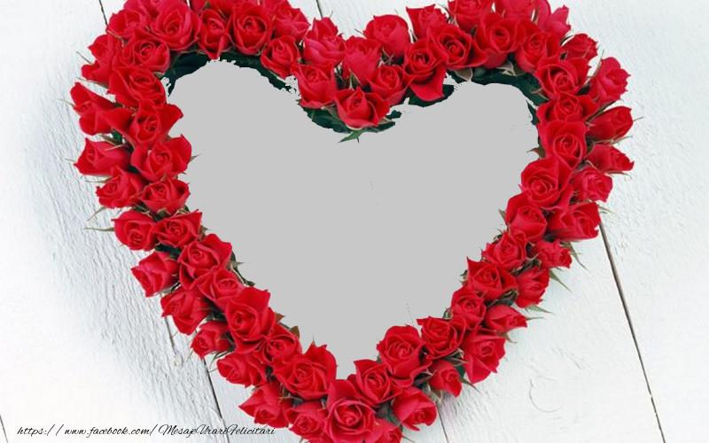 Personalizare felicitari de dragoste | Poza din inima
