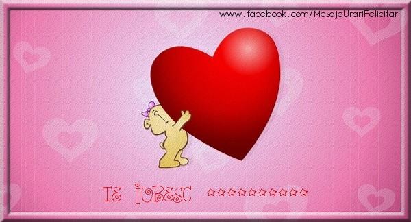 Personalizare felicitari de dragoste   Te iubesc ...