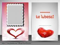 Personalizare felicitari de dragoste | ..., Te iubesc ...
