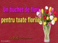 Personalizare felicitari de Florii | Un buchet de flori pentru toate florile! ...
