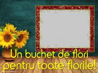 Personalizare felicitari de Florii | Un buchet de flori pentru toate florile! -