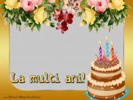 Personalizare felicitari de la multi ani | Felicitare personalizata cu poza
