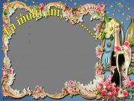 Personalizare felicitari de la multi ani | La multi ani, ...! - Rama foto de La Multi Ani