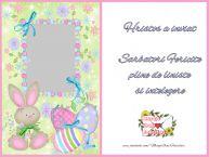 Personalizare felicitari de Pasti   Sarbatori Fericite  pline de liniste  si intelegere.