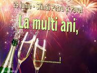 Personalizare felicitari de Sfintii Petru si Pavel | 29 iunie - Sfintii Petru și Pavel La multi ani, ...!