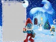Personalizare felicitari  | Peisaj de iarna
