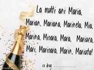 Personalizare felicitari de Sfanta Maria Mica | La multi ani Maria, Marian, Mariana, Marinela, Mia, Marina, Mioara, Mara,  Mariuca, Mari, Marioara, Marin, Mariuta! ...!