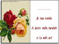 Personalizare felicitari de Sfanta Maria Mica | de ziua numelui iti doresc multa sanatate si La multi ani! ...
