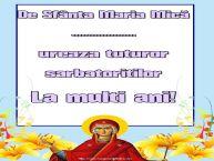 Personalizare felicitari de Sfanta Maria Mica | De Sfânta Maria Mică ... ureaza tuturor sarbatoritilor La multi ani!