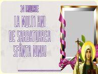 Personalizare felicitari de Sfânta Nina   14 Ianuarie La multi ani de Sarbatoarea Sfânta Nina! ...
