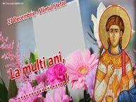Personalizare felicitari de Sfântul Ștefan | 27 Decembrie - Sfântul Ștefan La multi ani, ...! -