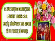 Personalizare felicitari de Sfintii Ioachim si Ana | De Ziua Sfinților Ioachim și Ana le doresc tuturor celor care își sărbătoresc ziua numelui să fie fericiți și împliniți! ...!