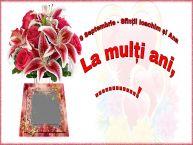 Personalizare felicitari de Sfintii Ioachim si Ana | 9 Septembrie - Sfinții Ioachim și Ana La mulți ani, ...! -
