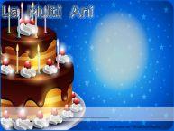 Personalizare felicitari de zi de nastere | La multi ani ...