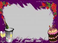 Personalizare felicitari de zi de nastere | Felicitare personalizata cu poza - La multi ani!