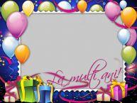 Personalizare felicitari de zi de nastere   La multi ani!