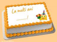 Personalizare felicitari de zi de nastere | La multi ani ...!