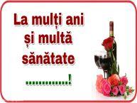 Personalizare felicitari de zi de nastere | La mulți ani și multă sănătate ...!