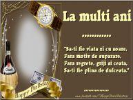 Personalizare felicitari de zi de nastere   La multi ani ... ...